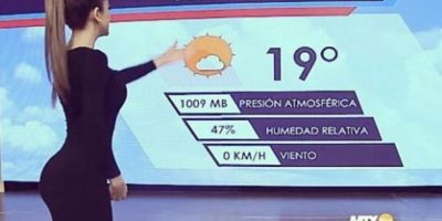 Se encarga de presentar el reporte del tiempo en el canal Televisa Monterrey. Foto:vía instagram.com/yanetgarcia