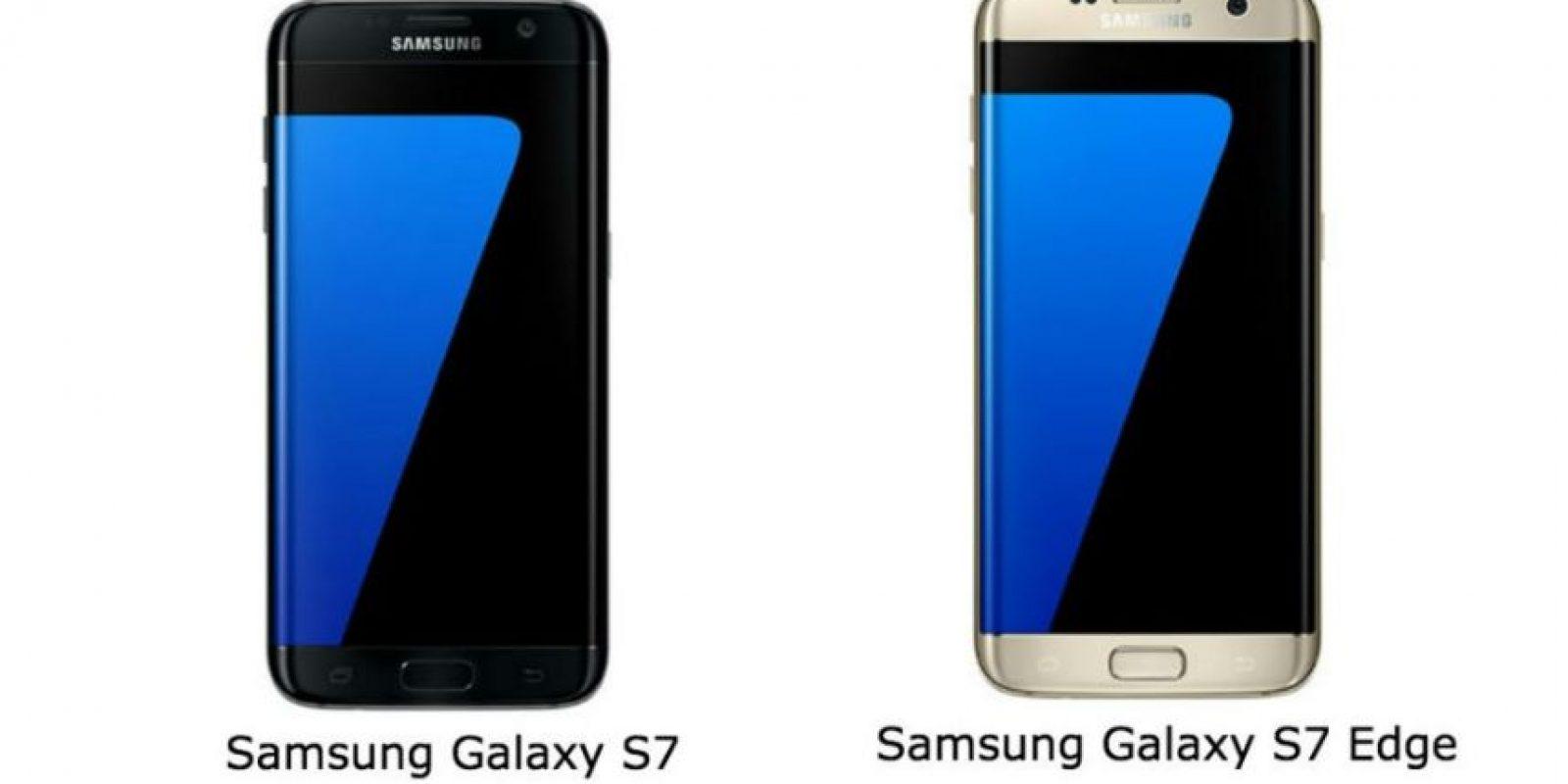 Los nuevos Samsung Galaxy S7 y Samsung Galaxy S7 Edge. Foto:Samsung