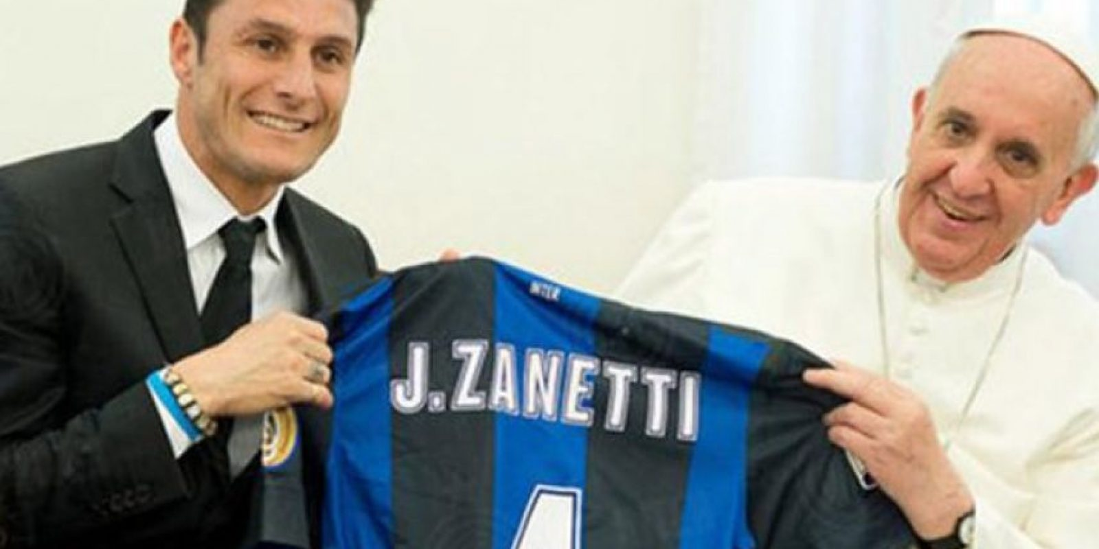 Fue visitado por su compatriota Javier Zanetti.