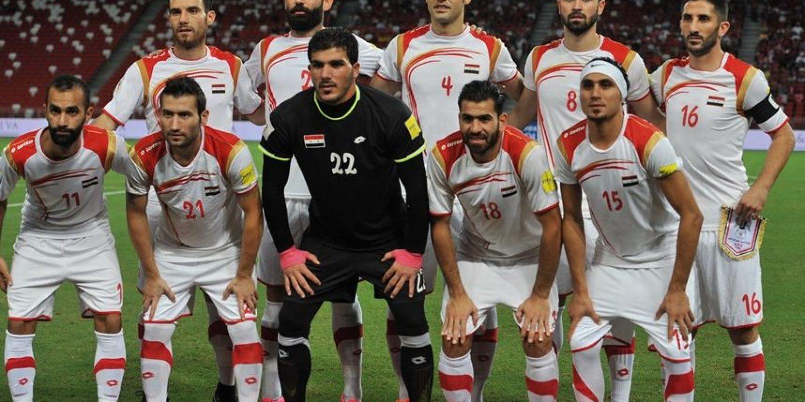 La Selección de Siria se encuentra cerca del Mundial Foto:Getty Images