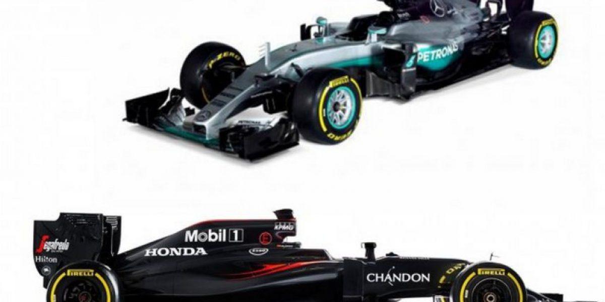 F1: Presentados los nuevos Mercedes y McLaren