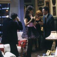 """Maggie Wheeler le dio vida a """"Janice"""", la ex novia de """"Chandler"""" que aparecía en los momentos más inoportunos. Foto:IMDB"""