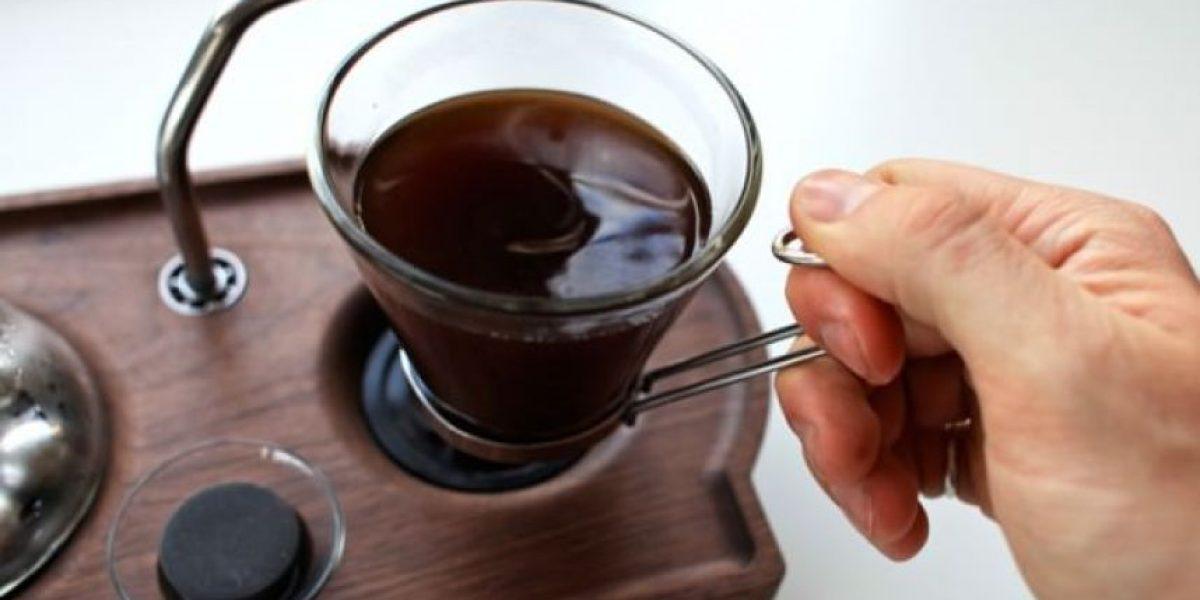Despertador con aroma de café