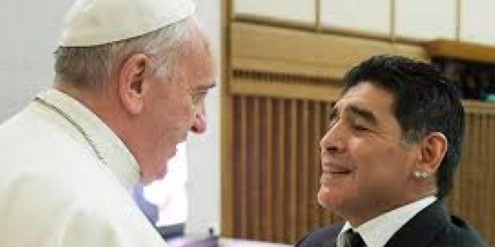 Diego Maradona es otro de los jugadores que lo visitó