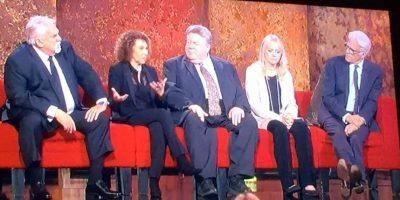 Ya comenzó el esperado show en homenaje a James Burrows en la NBC. Foto:vía Twitter