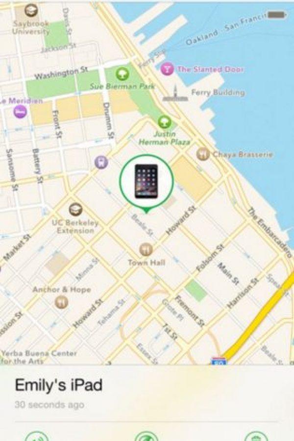 Incluso les ayuda si perdieron el celular en su casa al emitir un sonido. Foto:Apple
