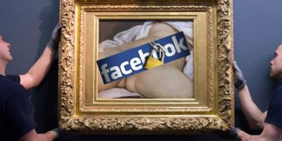 La Corte de Apelación de París dió luz verde para proceder con una demanda en contra de Facebook, por censurar esta obra Foto:Internet