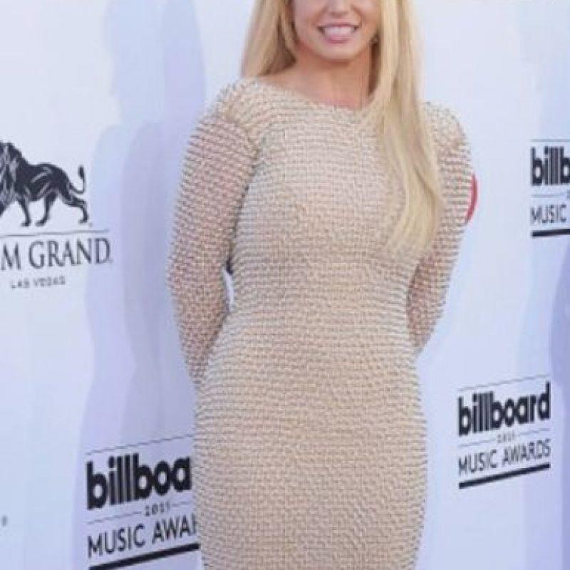 7. Britney Spears también se pica la nariz y suele ser desordenada Foto:Getty Images