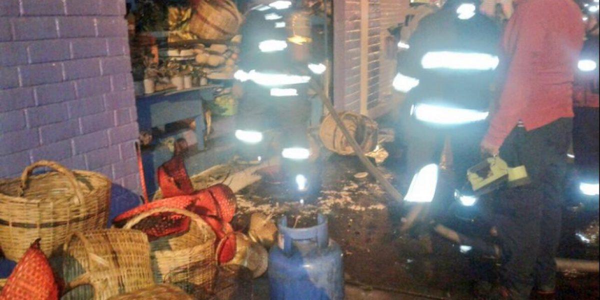 Controlado incendio en Mercado Iñaquito