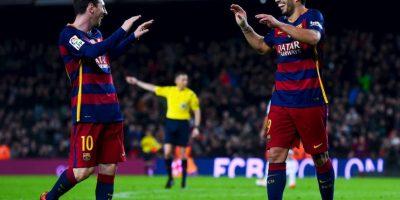 Lo realizaron en la goleada 6-1 que le propinaron al Celta de Vigo Foto:Getty Images