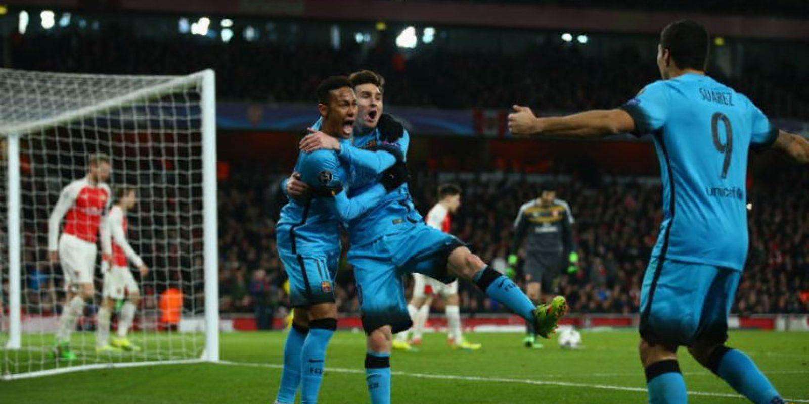 La MSN suma 58 goles solo en la Liga de España Foto:Getty Images