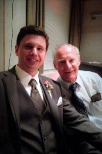 Derek Schwendeman y su abuelo Foto:buzzfeed