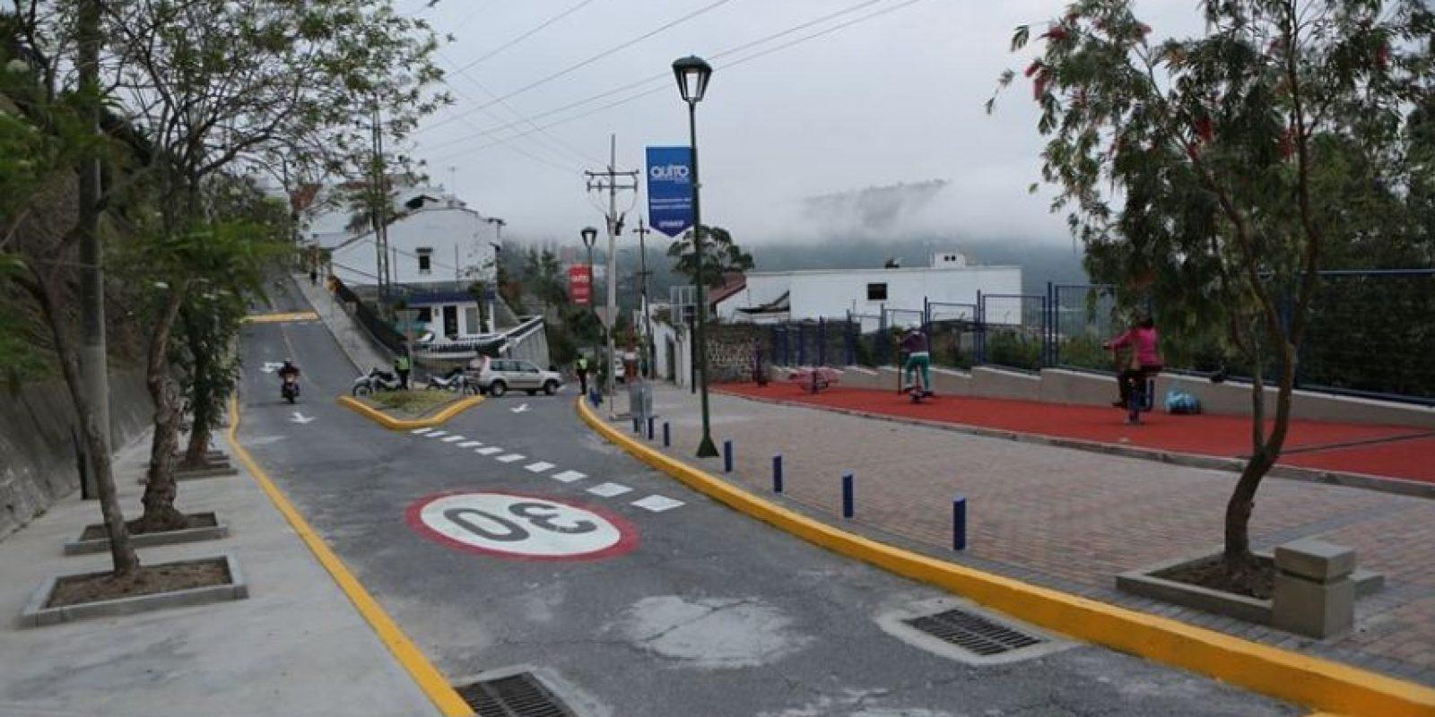 Nuevo Paseo Escénico de Guápulo Foto:Cortesía