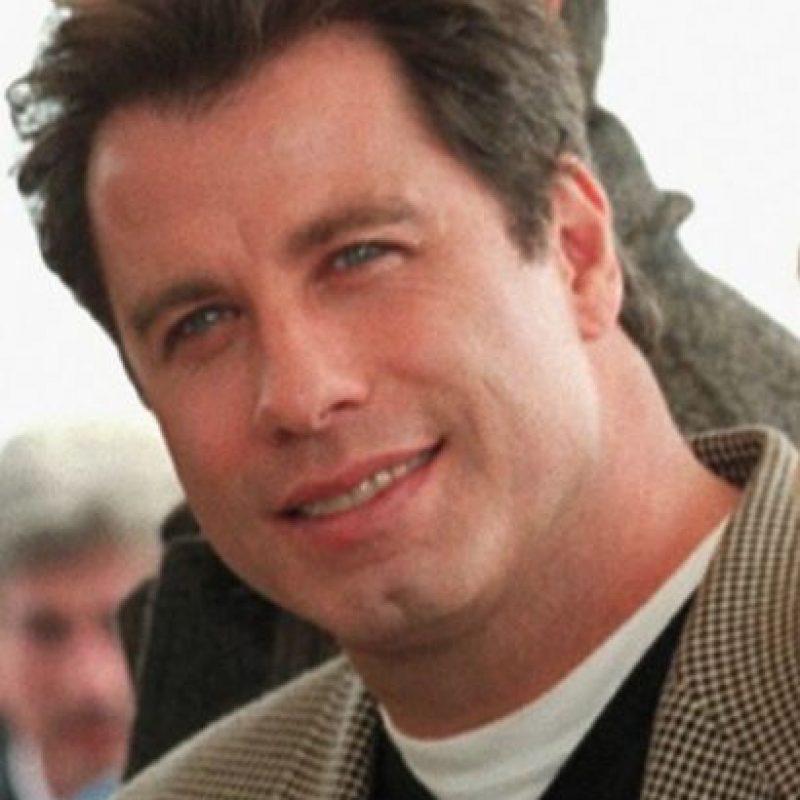 Antes y después de John Travolta Foto:Vía Twitter