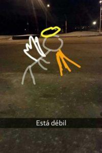 Foto: Vía Snapchat