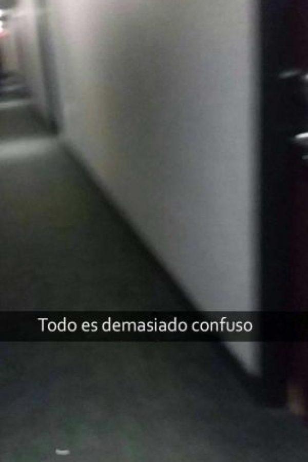 Foto:Vía Snapchat