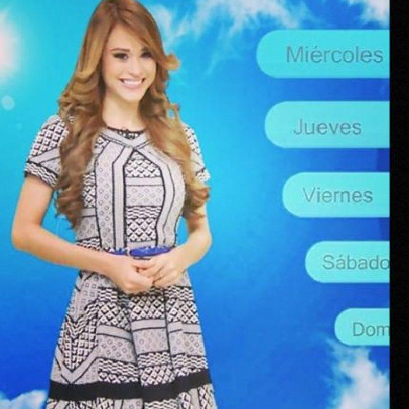 A sus 19 años ya era una de las bellezas del canal de televisión Televisa Monterrey. Foto:vía acebook.com/yanetgarciapaginaoficial