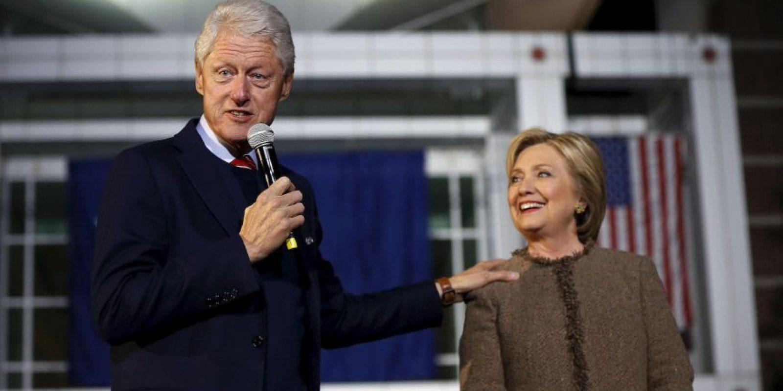 Durante el mandato de Bill Clinton fue primera dama. Foto:AP
