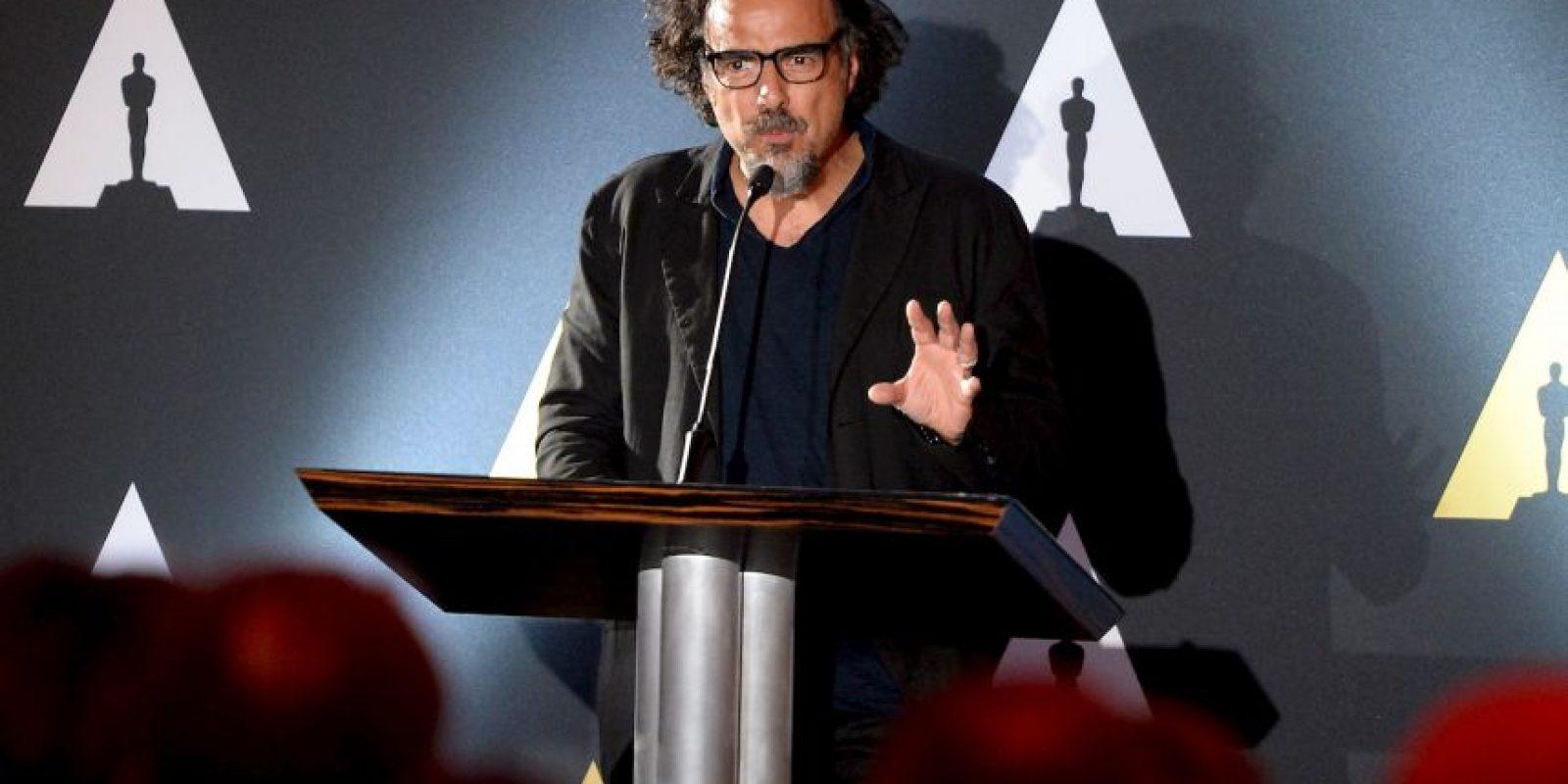 "El mexicano Alejandro González Iñarritu ganó el premio a ""Mejor Director"" Foto:Getty Images"
