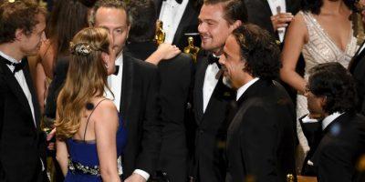"""""""Gracias a la Academia y a todos. Debo felicitar a mis conominados de este año por sus increíbles actuaciones"""". Foto:Getty Images"""