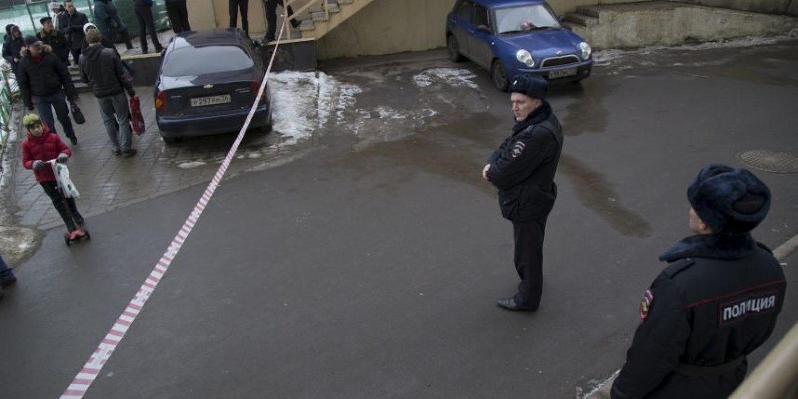 La mujer gritaba frases yihadistas Foto:AP