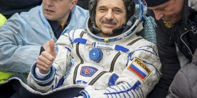 Regresó junto con los rusos Serguéi Volkov y Mijaíl Kornienko. Foto:AP