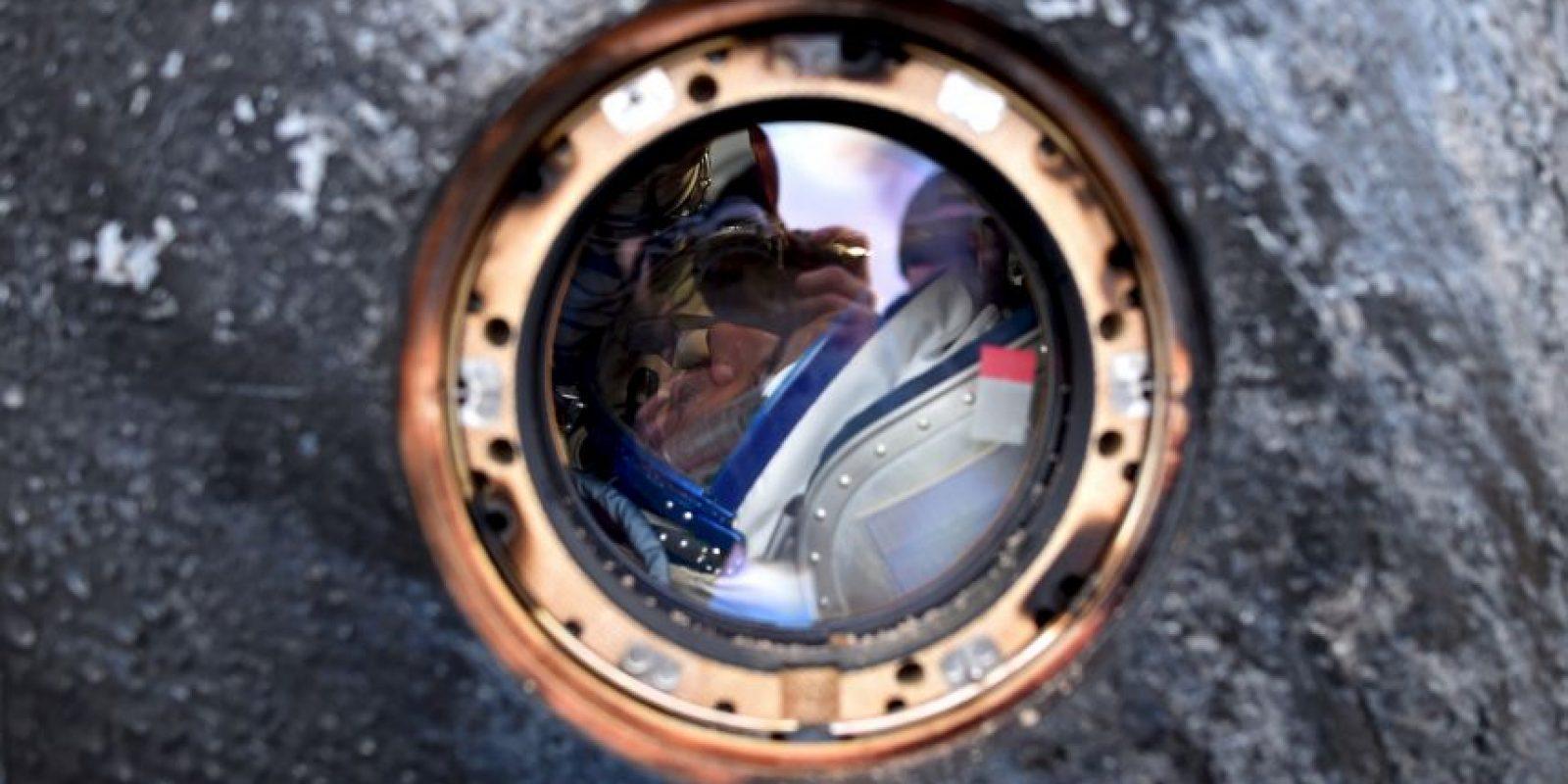 Scott Kelly regresó a la Tierra. Foto:AP