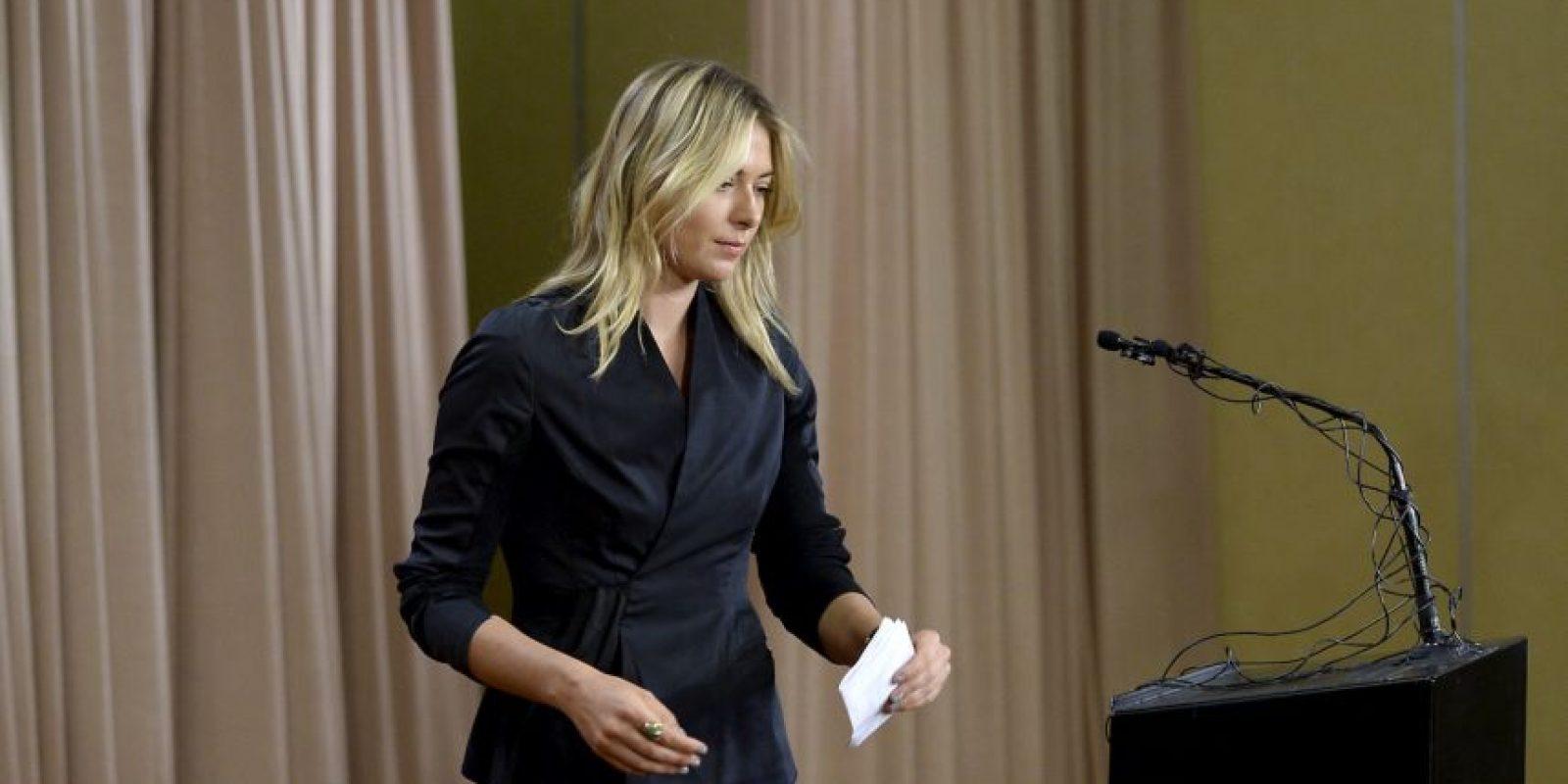 Confesó que dio positivo por meldonium en el Abierto de Australia Foto:Getty Images