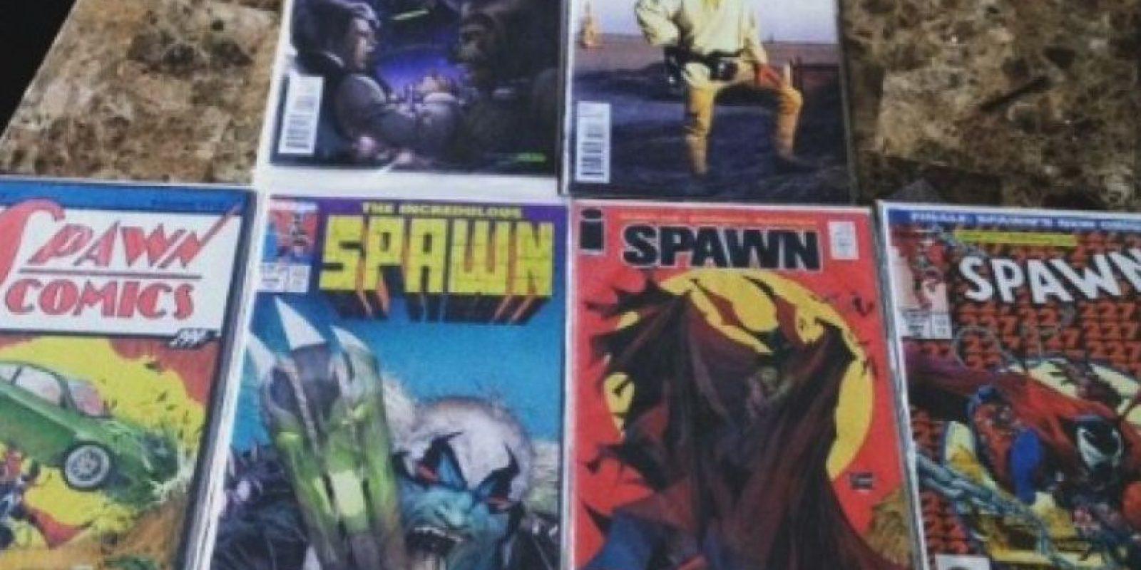 """Los cómics de """"Spawn"""" Foto:Instagram"""