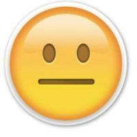 Sin expresión Foto:Emojipedia