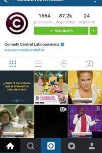 En esta red social también pueden seguir cuentas con contenido divertido. Foto:Instagram