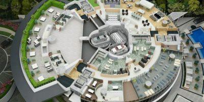 Existirán departamentos de dos plantas. Foto:Porsche Design Tower