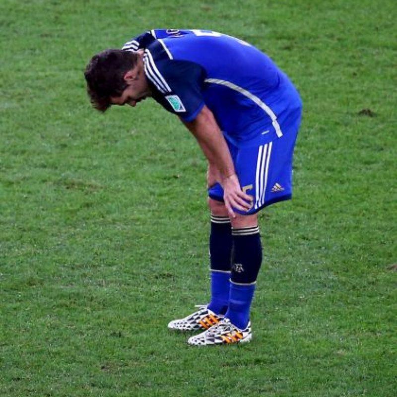 El mediocampista es un fijo en las nominaciones de Gerardo Martino, pero una lesión en el tendón de Aquiles lo dejó al margen del torneo en Estados Unidos. Foto:Getty Images