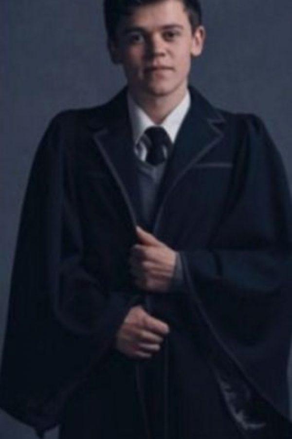 """Albus Severus Potte"" interpretado por Sam Clemmett Foto:Vía twitter.com/jk_rowling?"