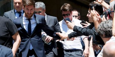 Así vivió Lionel Messi su juicio Foto:Getty Images