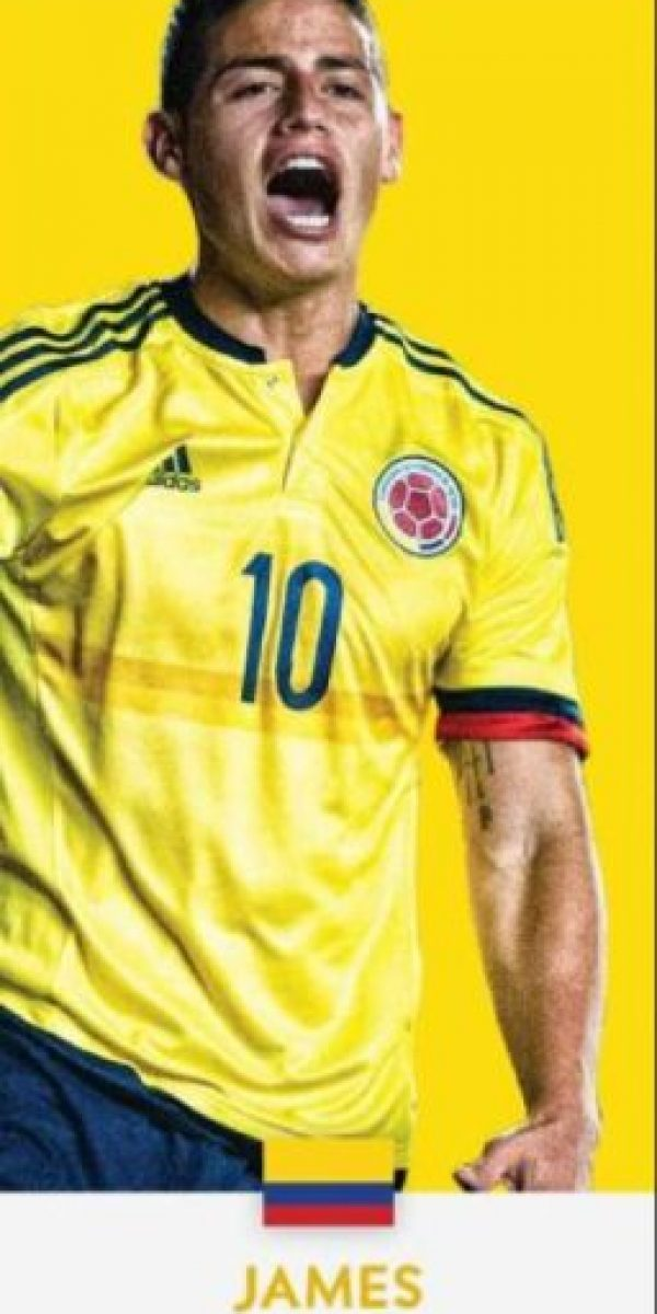 James Rodríguez (Colombia/Real Madrid) Foto:ca2016.com