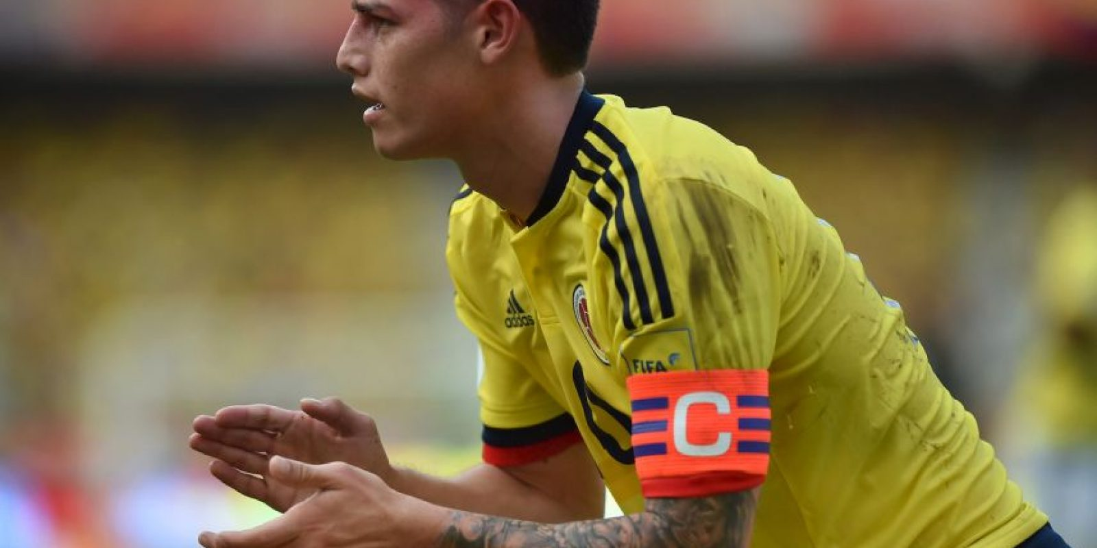 El 10 colombiano es por mucho el mejor jugador de su país, pese a su irregular presente en Real Madrid. Aunque por Zinedine Zidane no es considerado en los titulares, James es el llamado a conducir a la escuadra cafetalera y es un indiscutido para José Pekerman. Tendrá la misión de llevar a su selección a instancias definitivas a un torneo continental que lo encuentra en la plenitud de su madurez. Foto:AFP