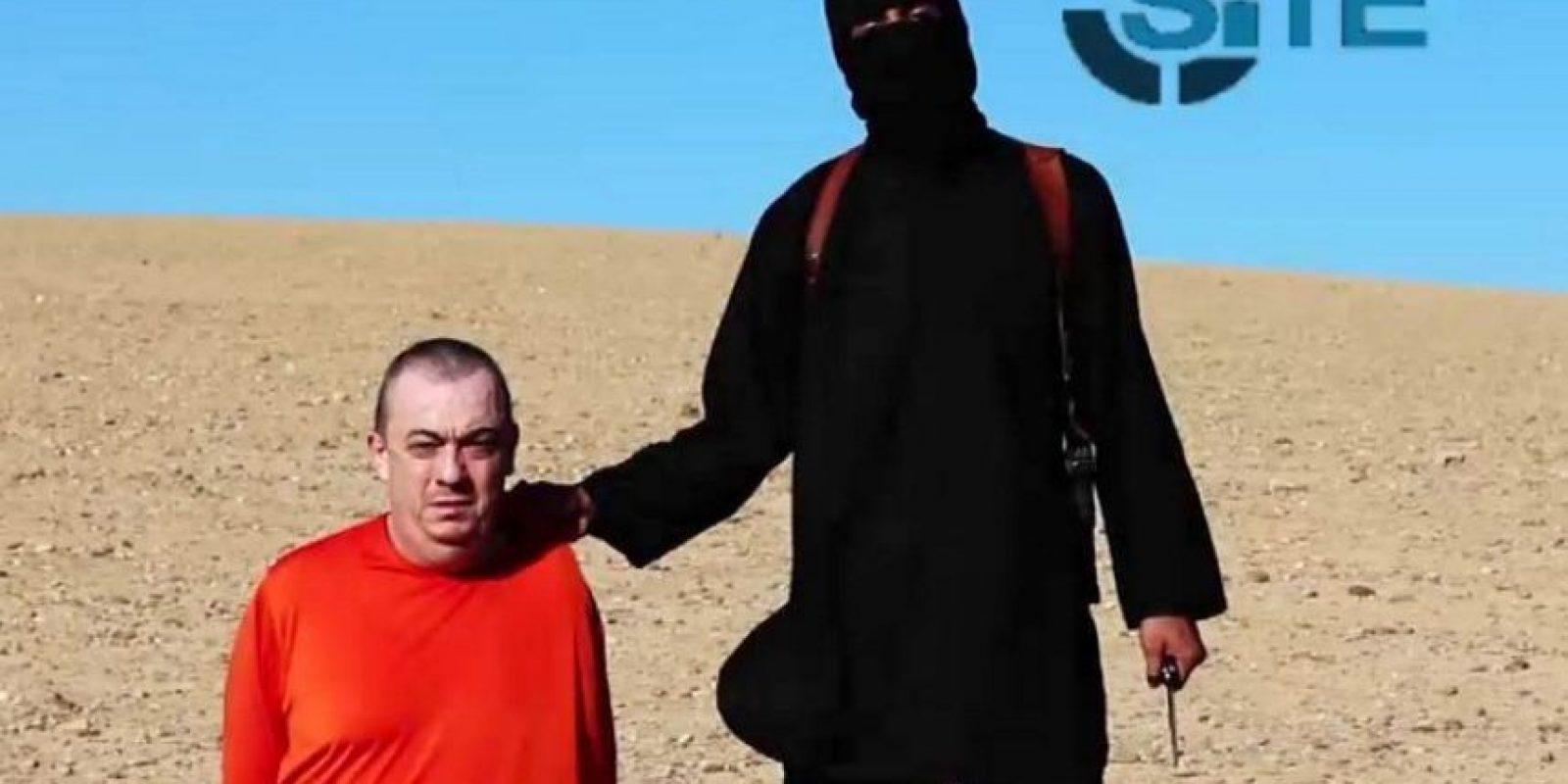 Y Alan Henning, quien brindaba ayuda humanitaria en Siria Foto:AFP