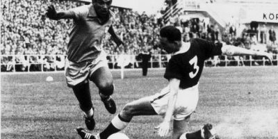 El doble campeón mundialista no pudo levantar nunca la Copa América. Pese a que en 1958 ganó el Mundial, el torneo de selecciones más antiguo del mundo fue esquivo para el jugador y no alcanzarlo en las dos oportunidades en las que jugó, en 1957 y 1959 Foto:Getty Images