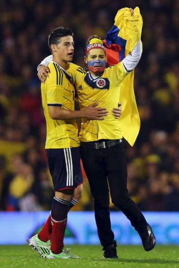 Los cafetaleros aún son liderados por James Rodríguez Foto: Getty Images
