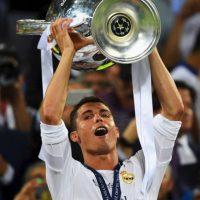 Cristiano Ronaldo marcó el penal definitivo con el que Real Madrid venció al Atlético de Madrid en la final de la Champions League. Foto:Getty Images