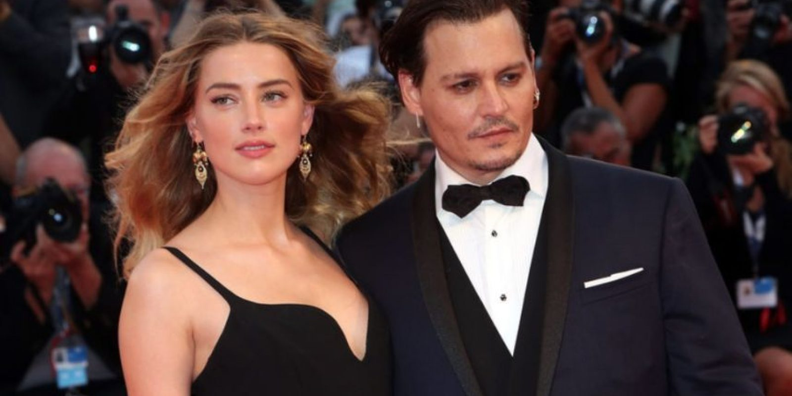 Amber solicitó el divorcio a Depp el 23 de mayo Foto:Getty Images