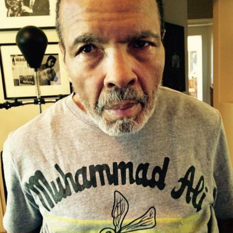 Muhammad Ali fue perdiendo poco a poco la batalla. Foto:instagram.com/hanayali/