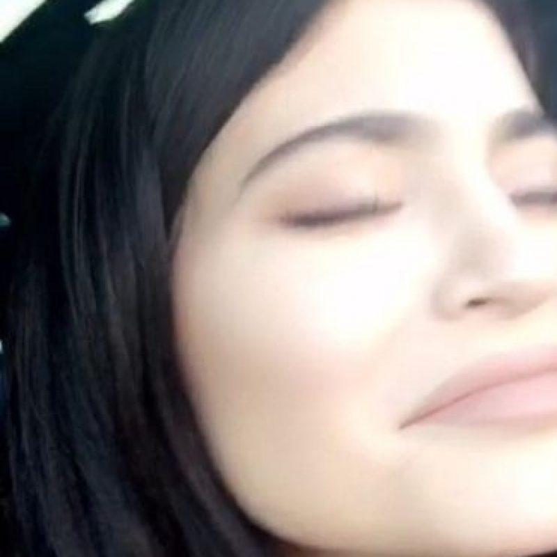 Kylie Jenner pareció divertirse Foto:Snapchat