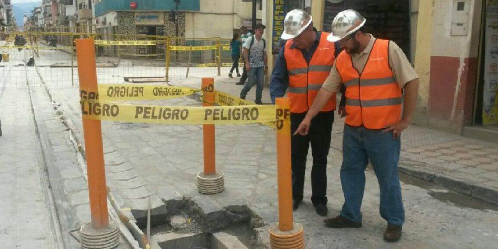 Gerente de Etapa realiza recorridos por las zonas de intervención. Foto:Cortesía