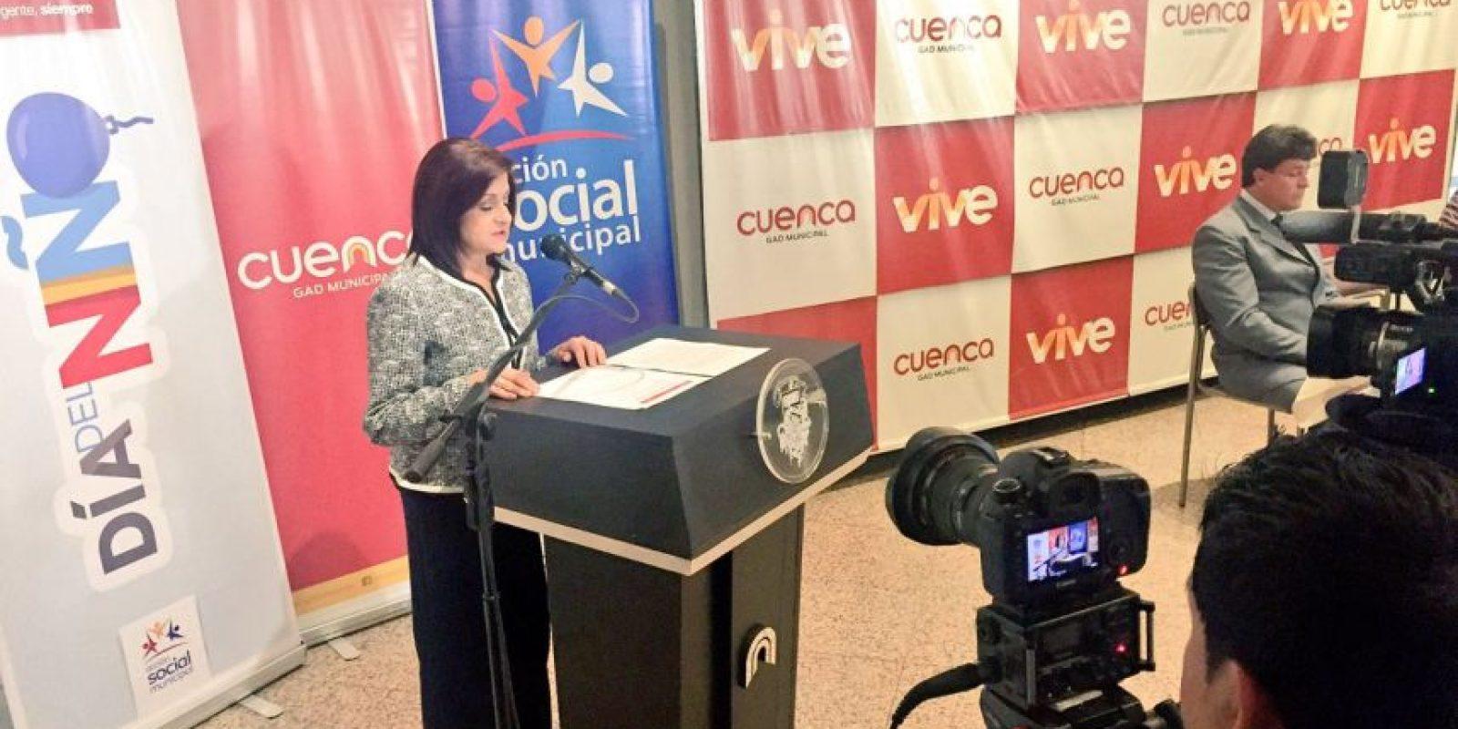 Foto:Mireya Vélez, Presidenta de Acción Social Municipal brindó detalles.