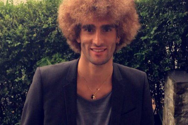 El impactante nuevo look de Marouane Fellaini