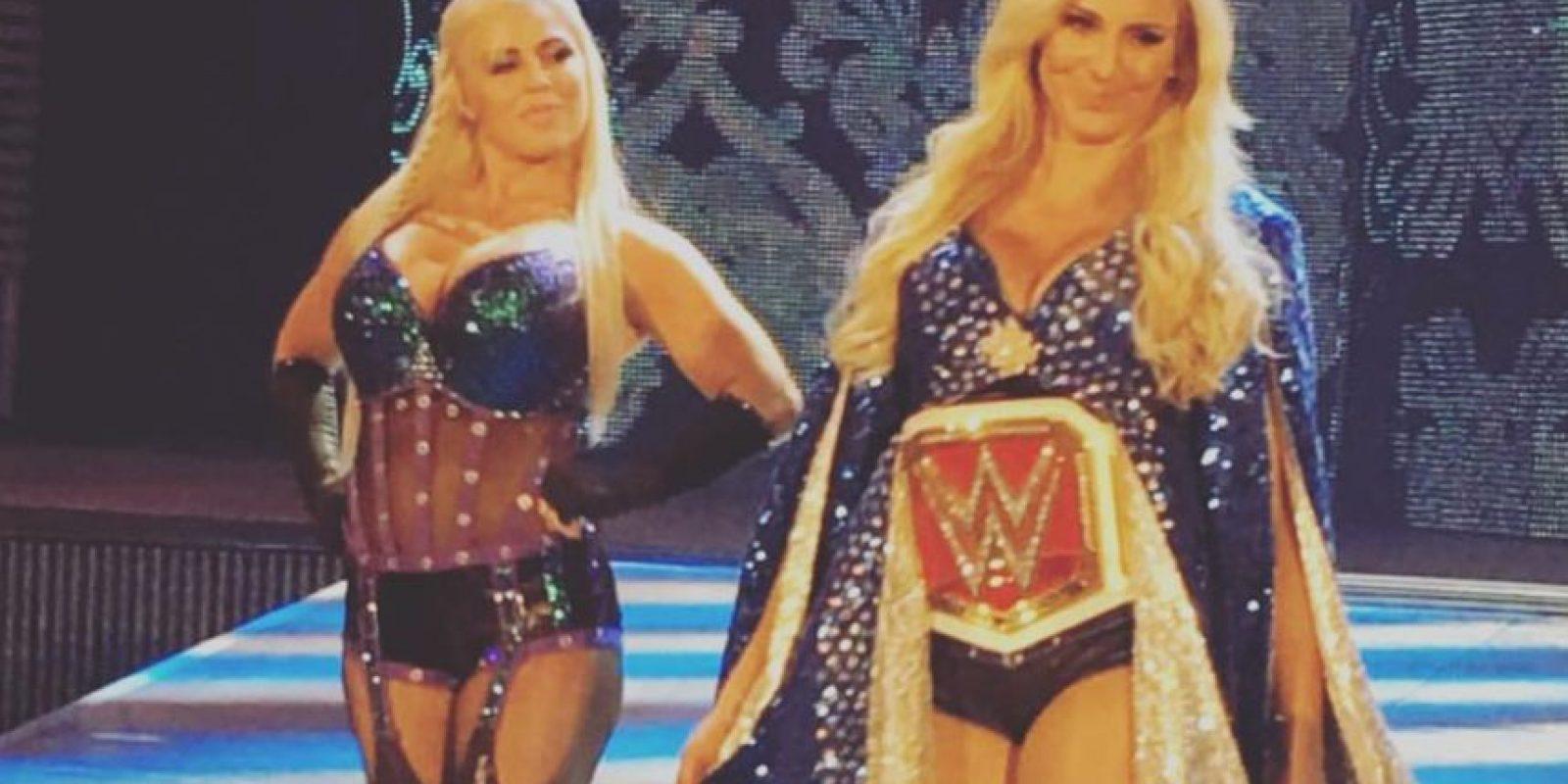 Y tiene polarizado al universo de WWE por su gran técnica, pero malas actitudes en el ring Foto:Vía instagram.com/charlottewwe