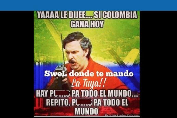 Memes partido Colombia vs Paraguay