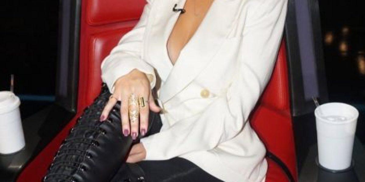 Christina Aguilera cambia de look y ahora es pelirroja